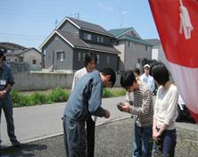 地鎮祭への参加協力の様子2