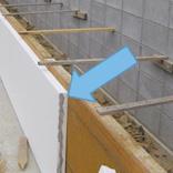 防蟻処理:基礎断熱材継ぎ手